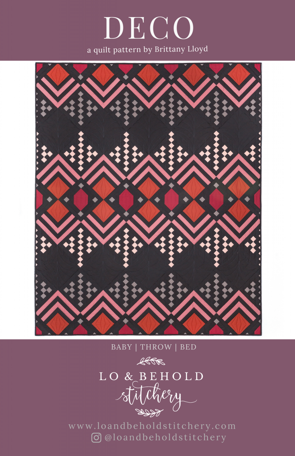 Deco Quilt Pattern Only