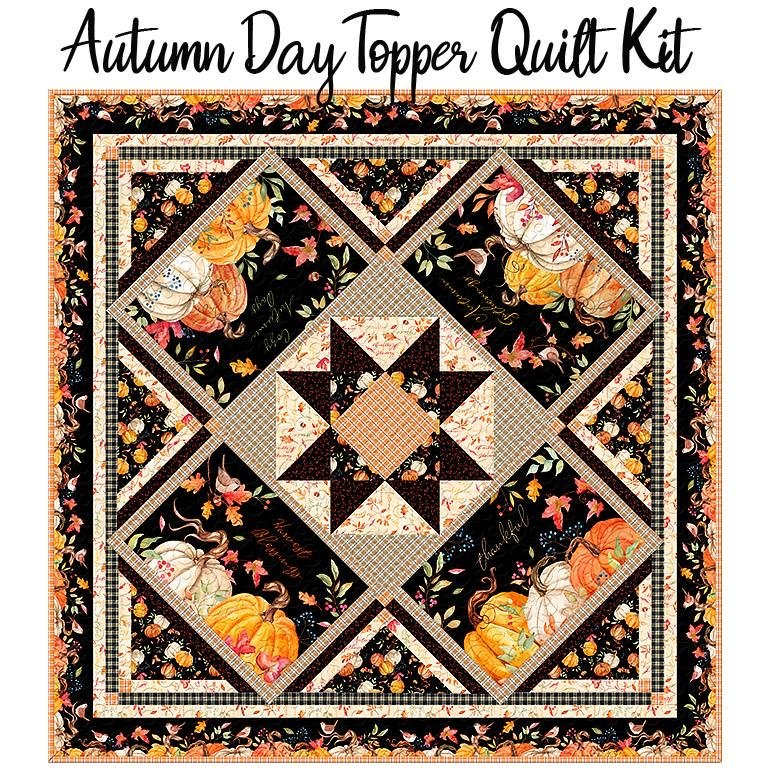 Autumn Day Table Topper 51.5 x 51.5