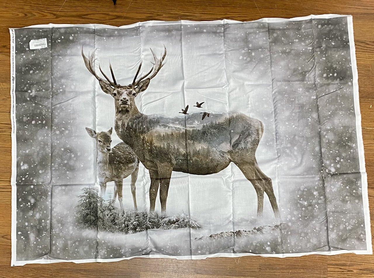 Deer Panel S4723-112 Dawn