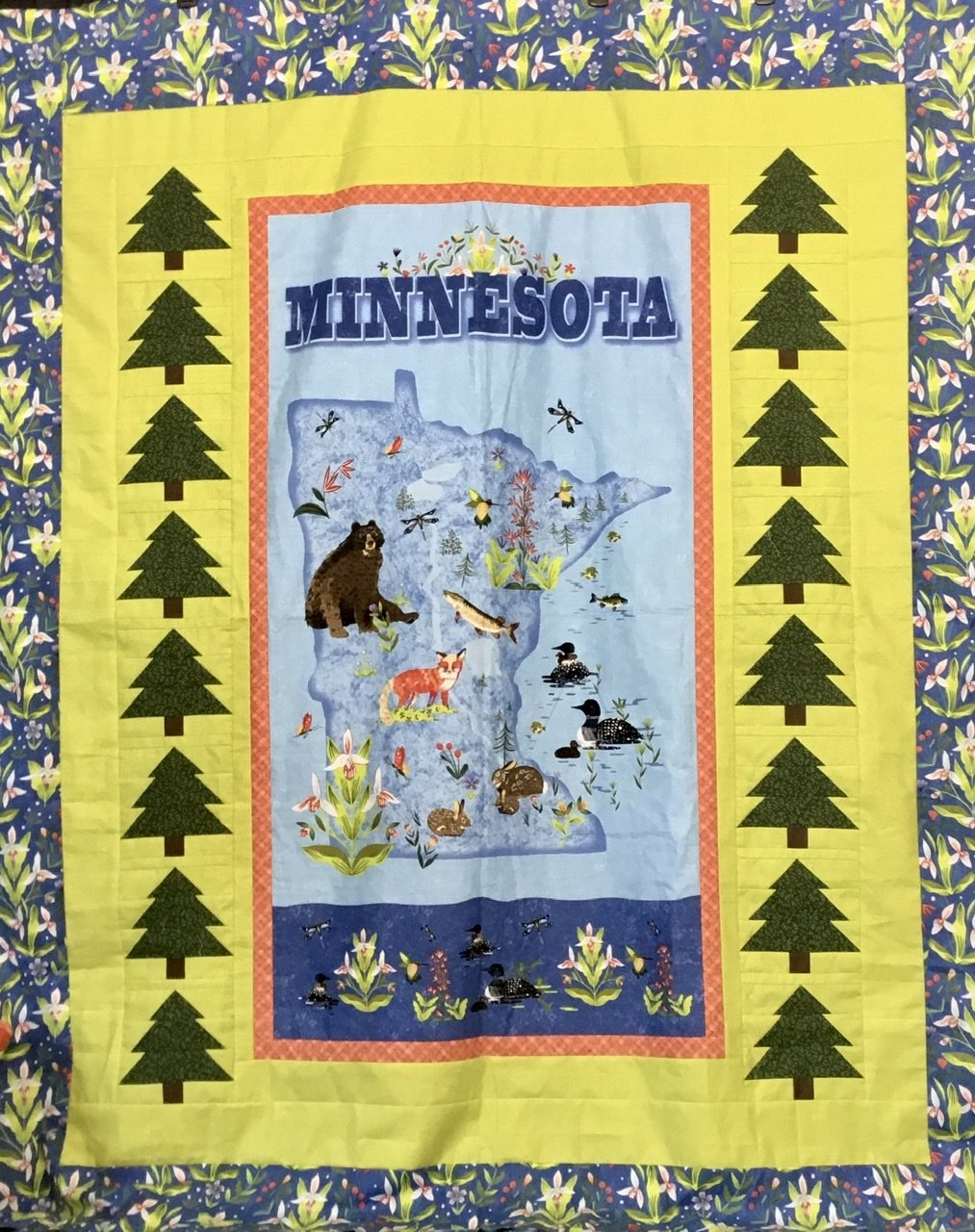 Quilt MN 2020 Mountain Pine quilt kit