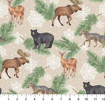 Frosted Forest F24301-12 Beige Multi