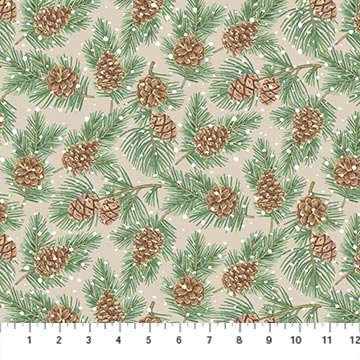 Frosted Forest F24303-12 Beige Multi