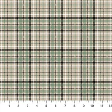 Frosted Forest F24304-12 Beige Light Plaid