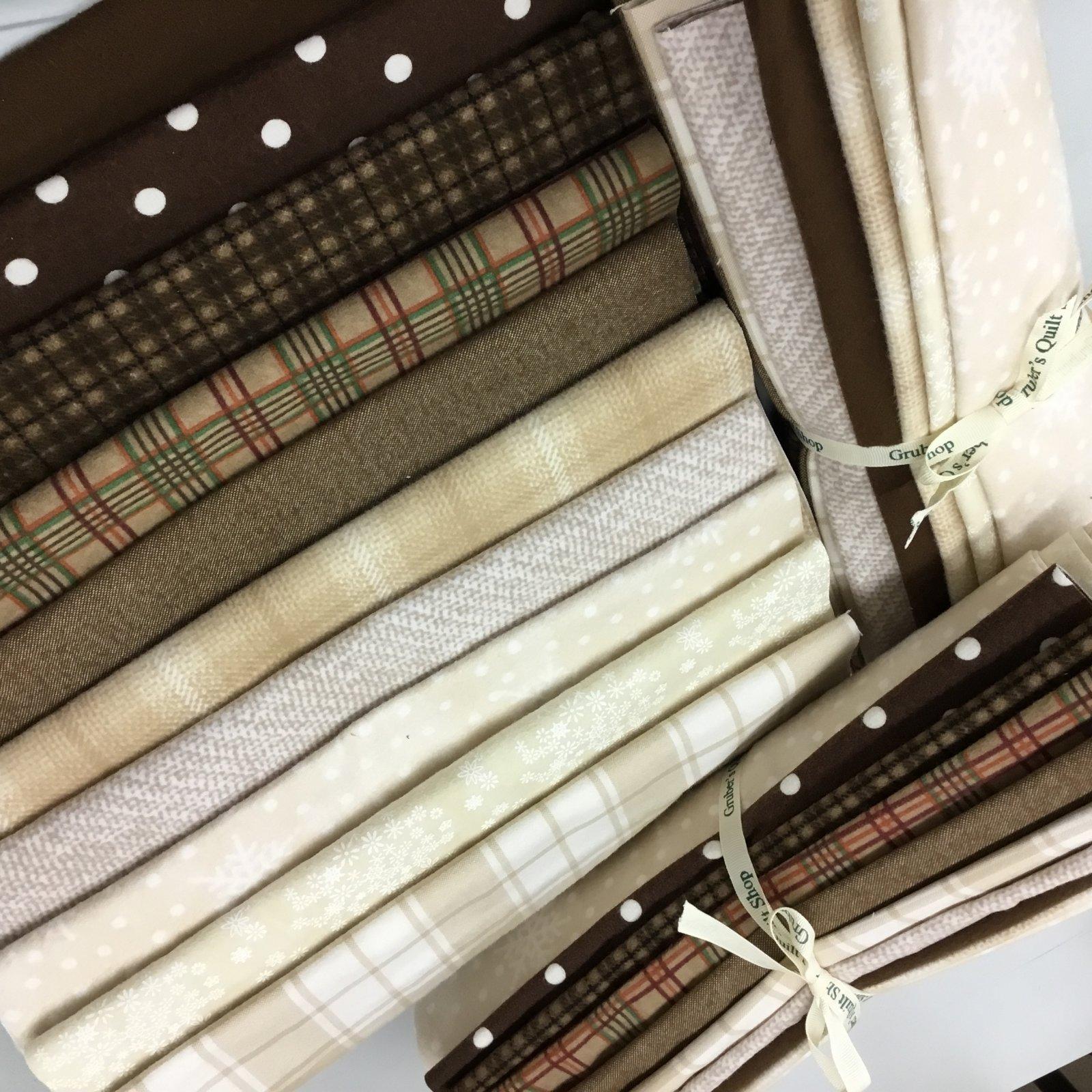 German Chocolate Flannel 10-Third Yds