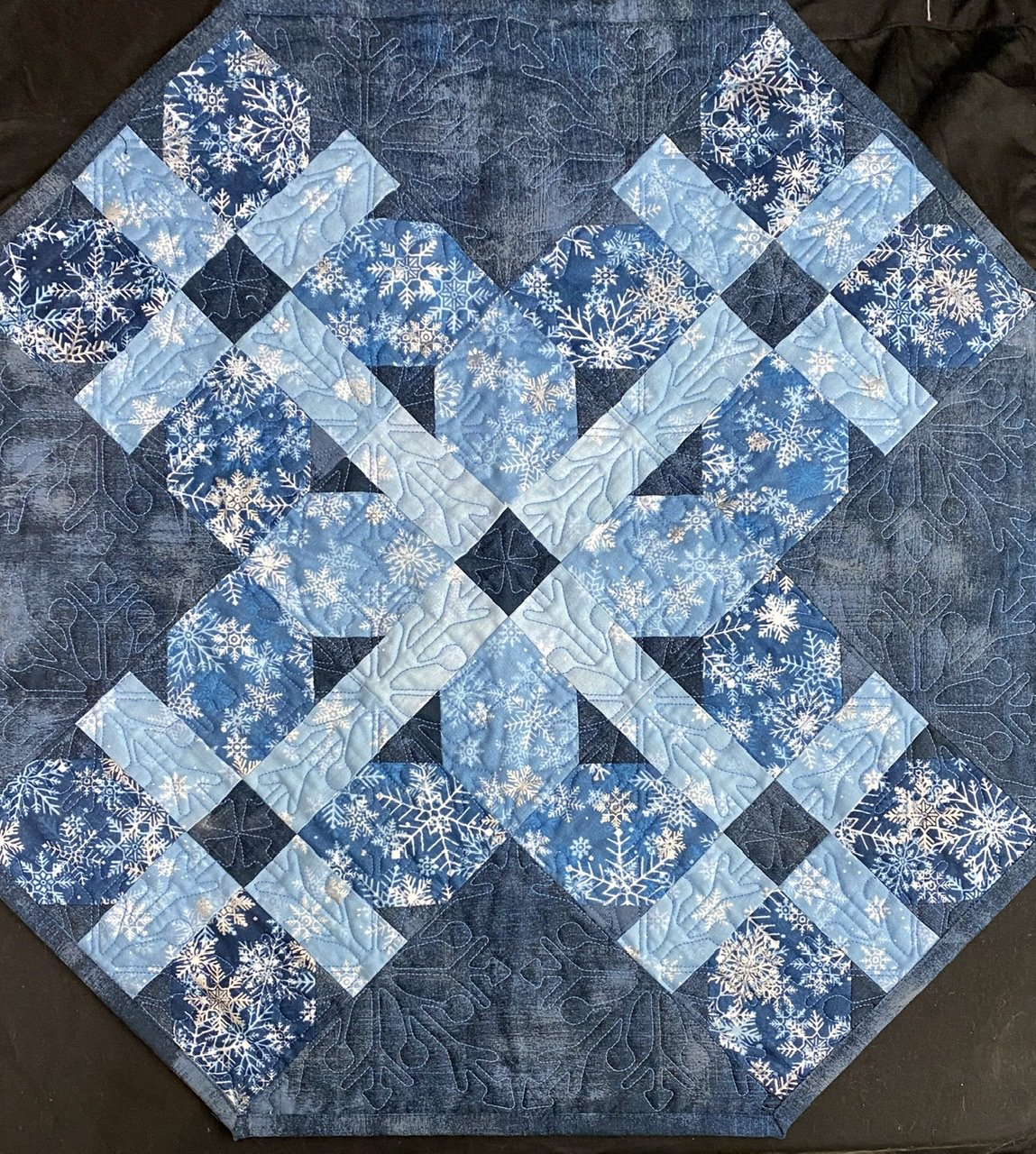 Double Cross Snowflake runner