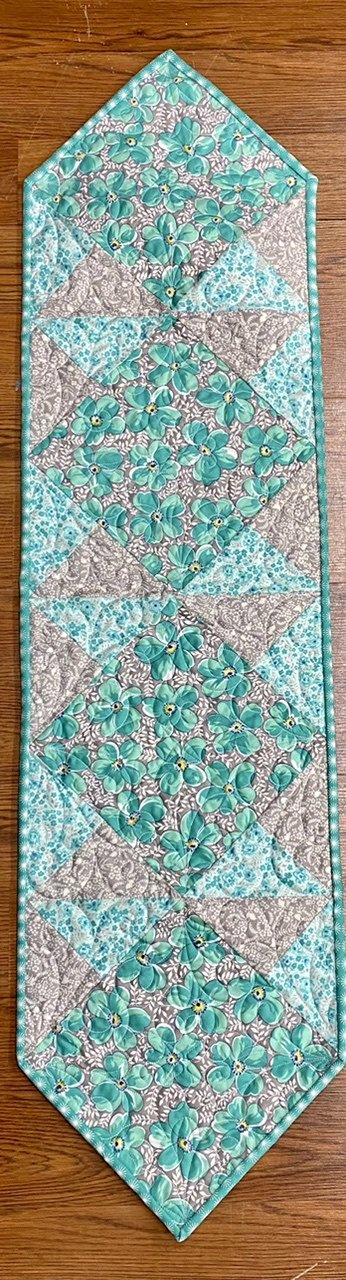 Flowers For Freya- Sew Square Runner Kit