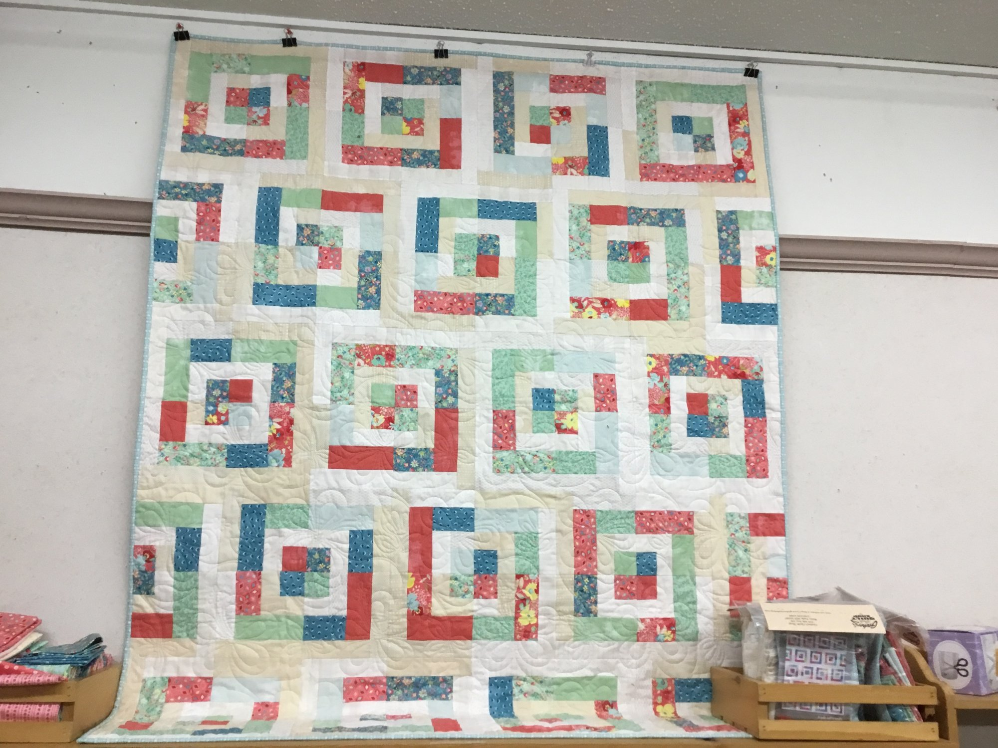 Color Pop Quilt Kit feat. Gypsy Soul