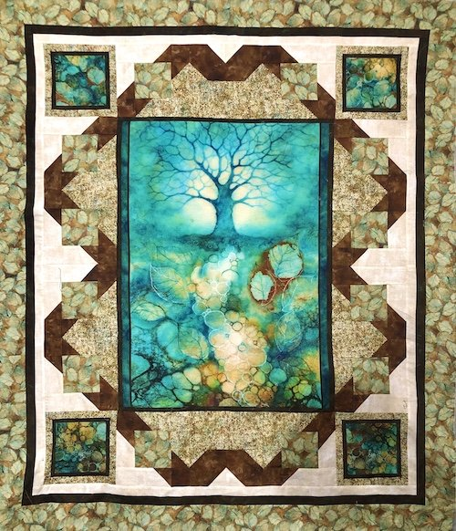 Tree of Wisdom kit 50 x 58 (Fisherman's Dream Pattern)