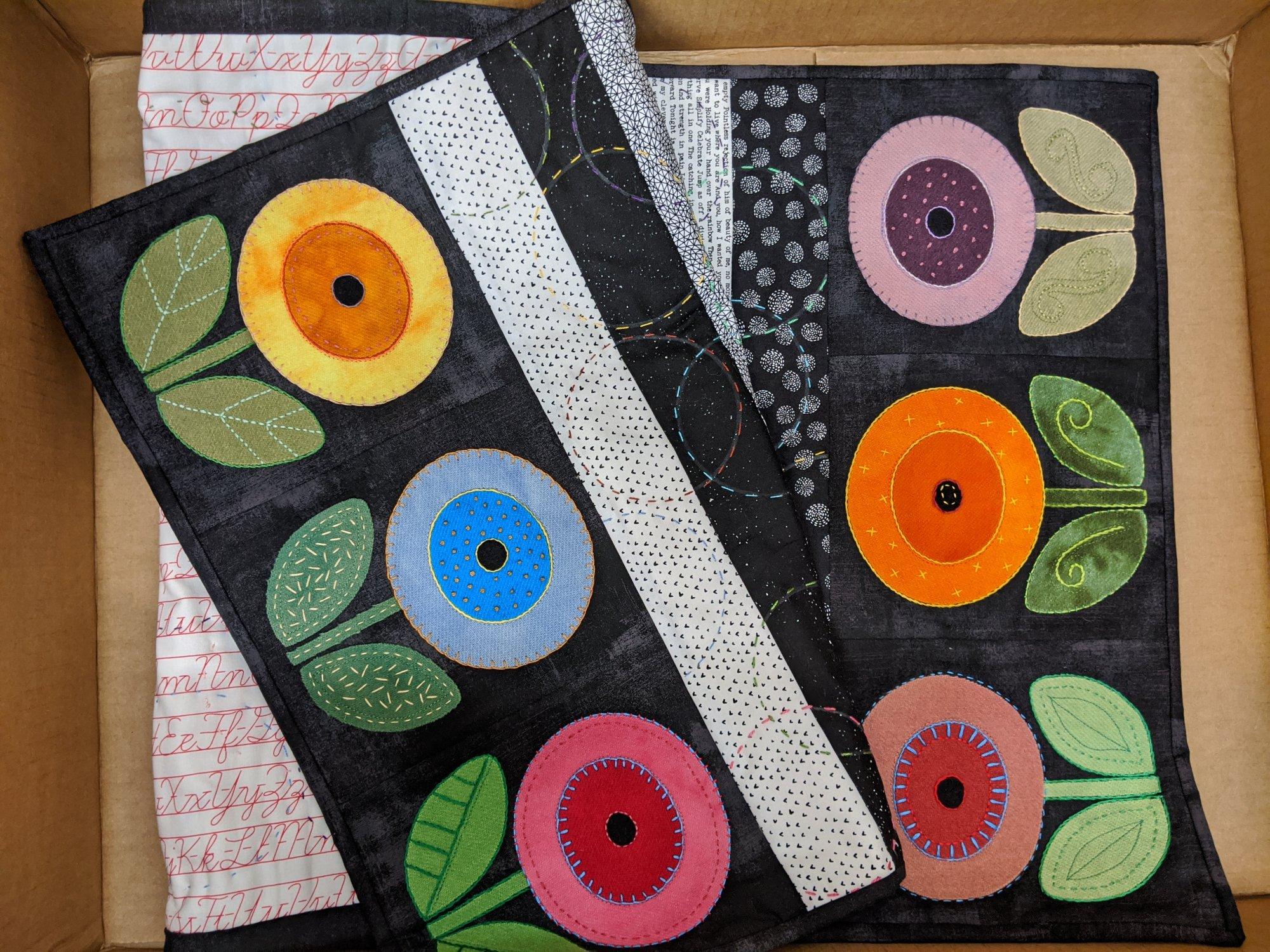 Bright Blooms Wool Kit