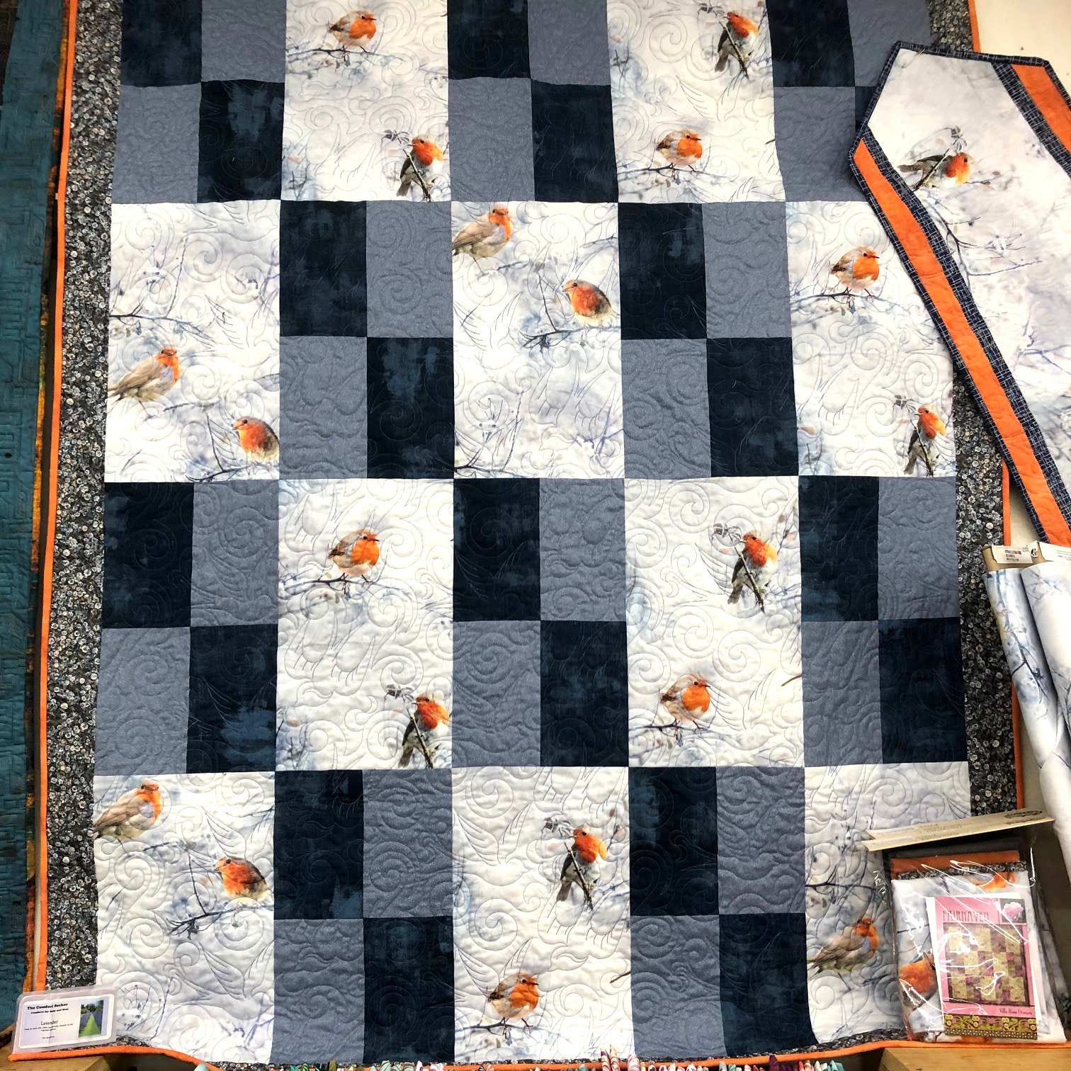 Fairhaven Kit feat. Call of the Wild English Robin 50 x 65