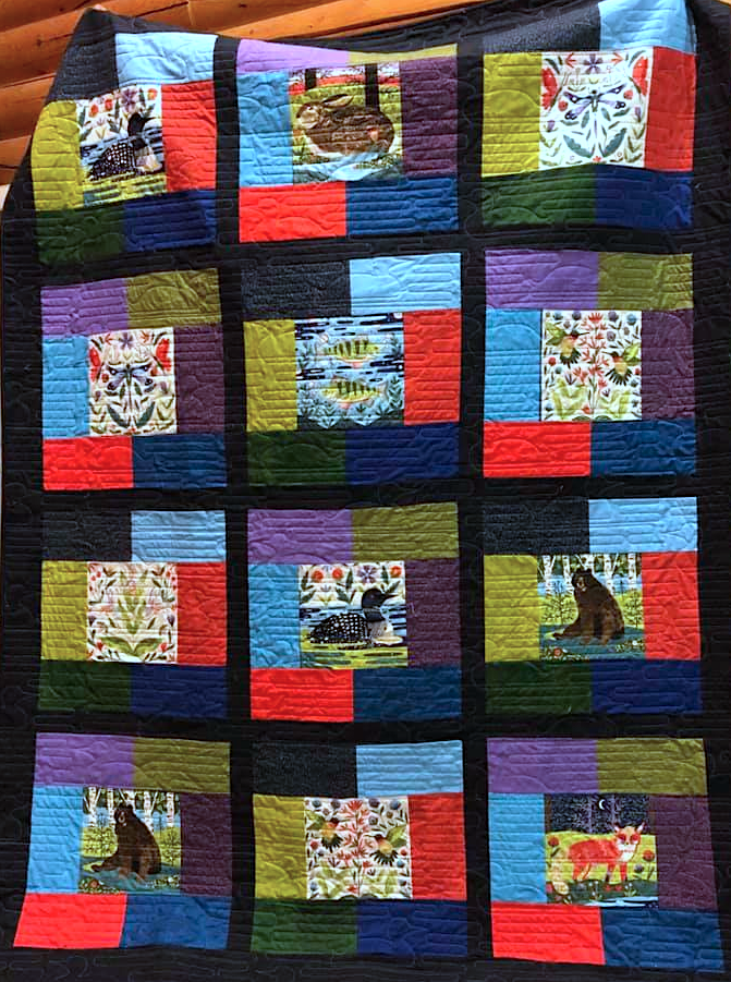 Lady Taylor Quilt MN kit