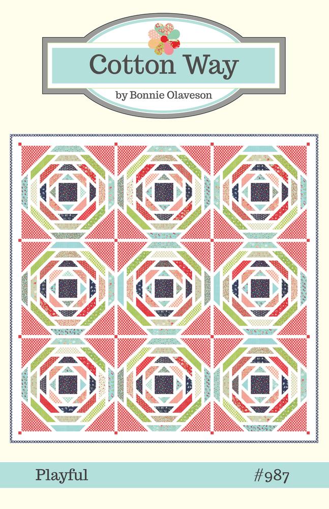 Playful pattern by Cotton Way 99x99