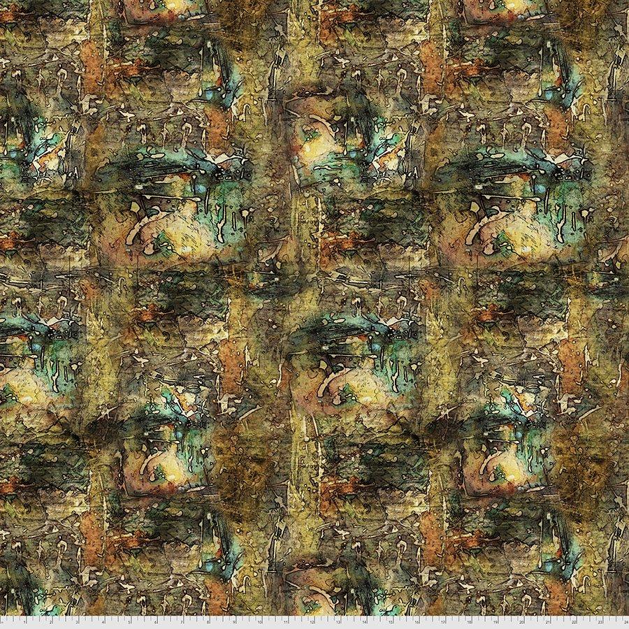 Abandoned 2 137 Multi Dropcloth