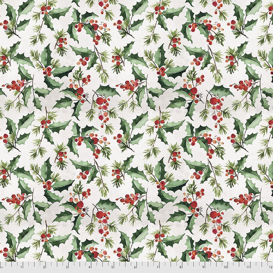 Christmastime 166 White Jolly Holly