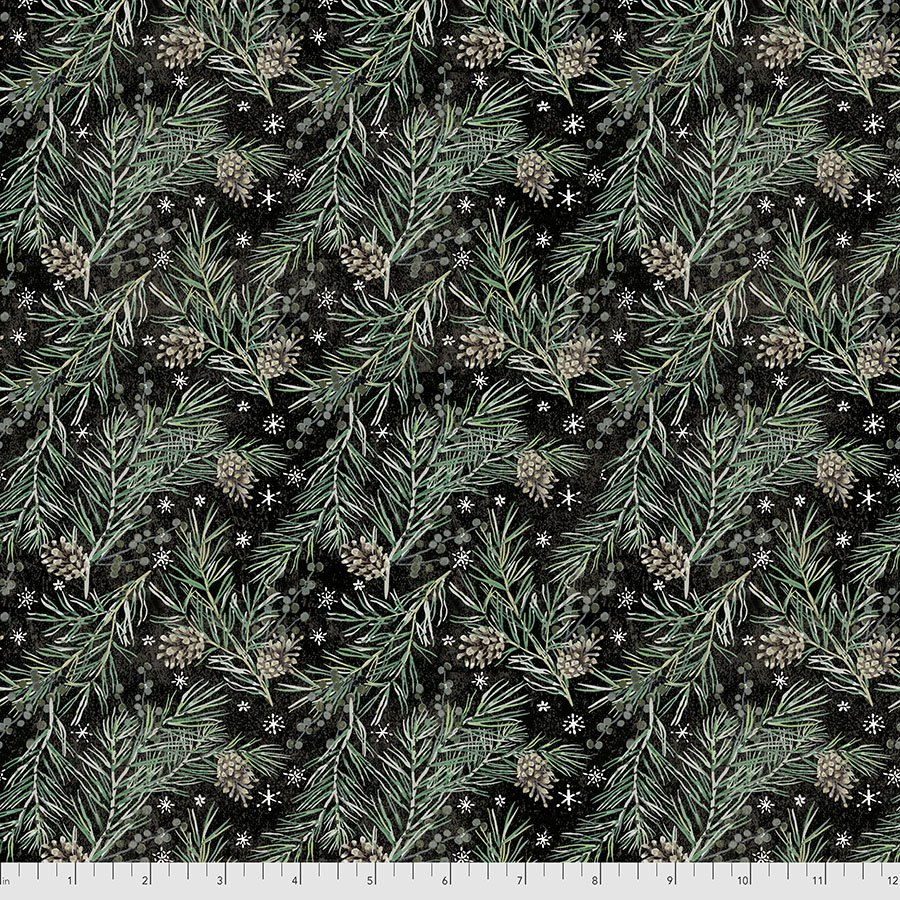 Christmastime 169 Black Pine Boughs
