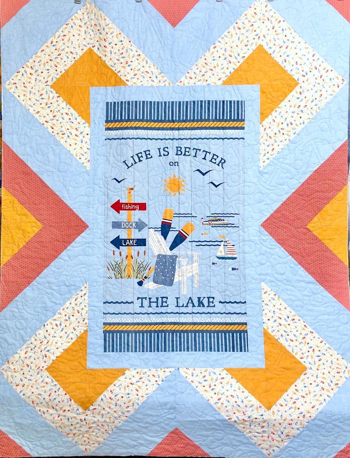 Red River Lake Life Kit 56x74