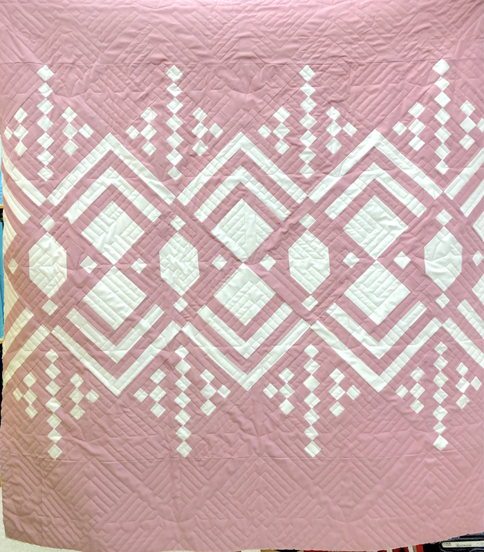 Deco kit Rose Pink 45x50 Kona Solids