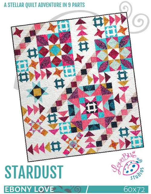 Stardust BOM quilt pattern book