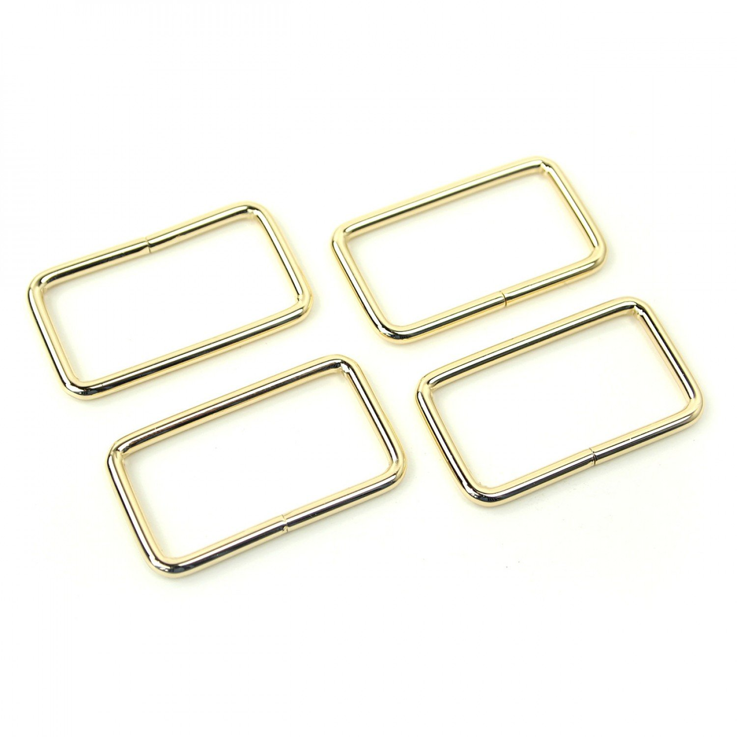 1.5 Rectangle Rings 4pc by Sallie Tomato