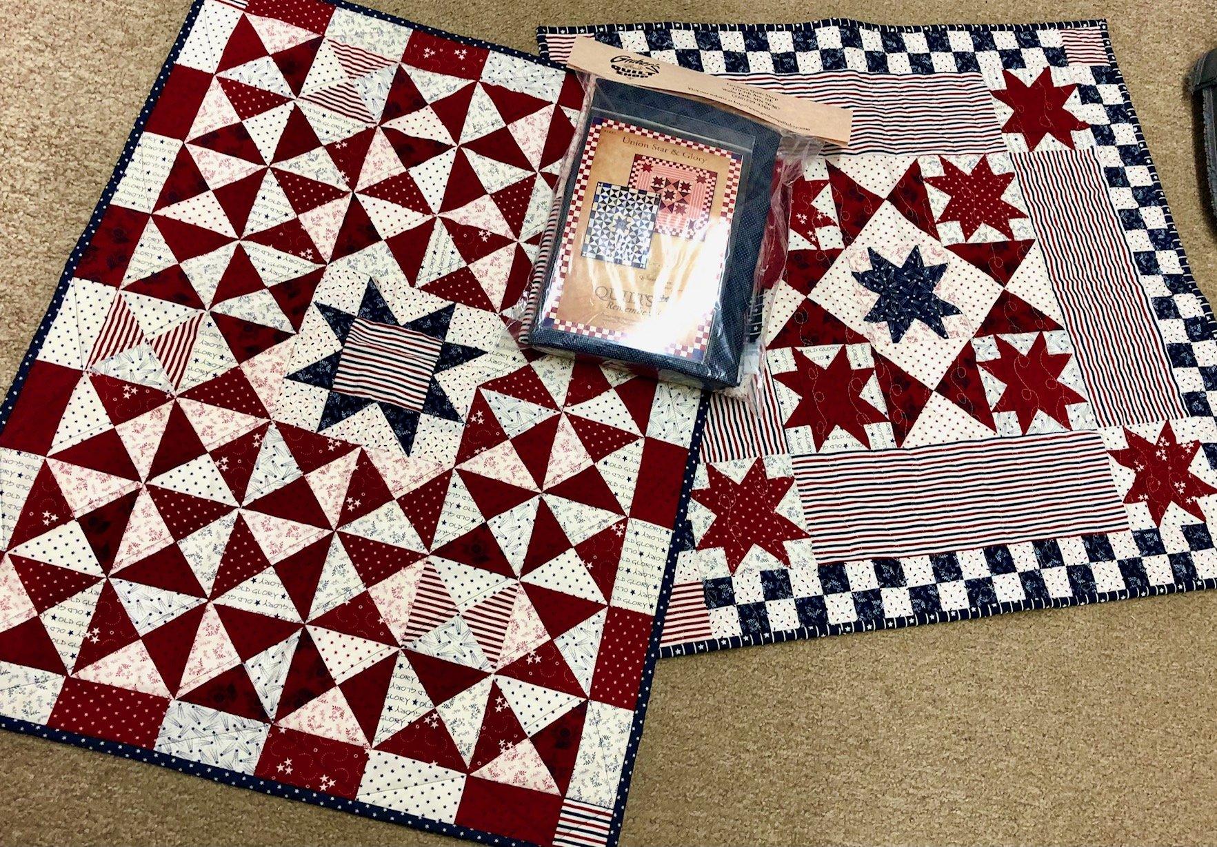 Union Star & Glory Kit - 2 projects