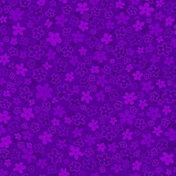 Hopscotch First Flowers - Grape