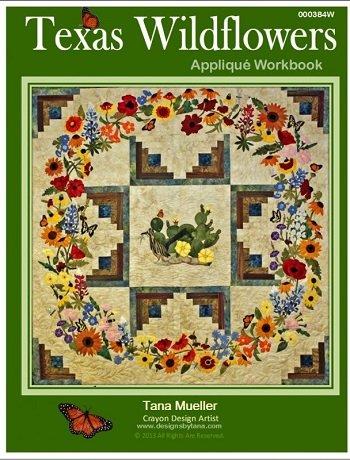 Texas Wildflower Applique Workbook