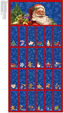 Santa Clause is Coming To Town-Advent Calendar Kit
