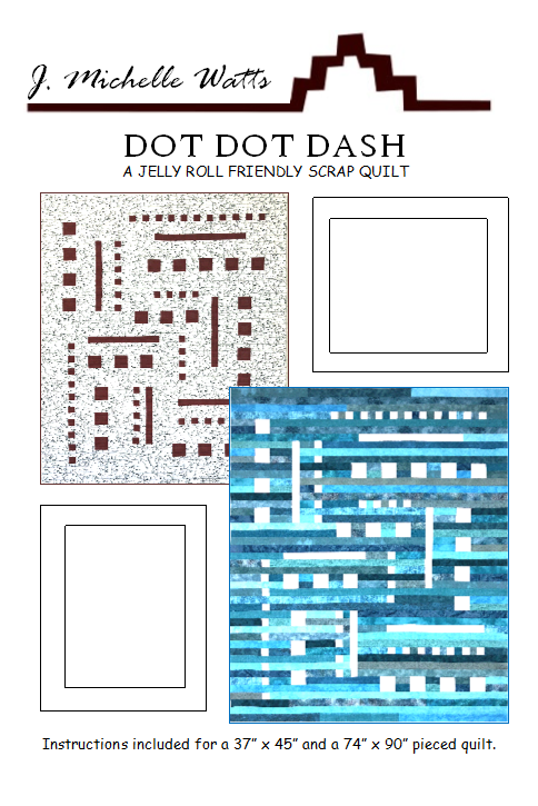Dot Dot Dash - A Jelly Roll Friendly Scrap Quilt