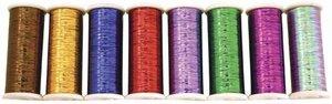 Glitter Hologram & Decorative Thread