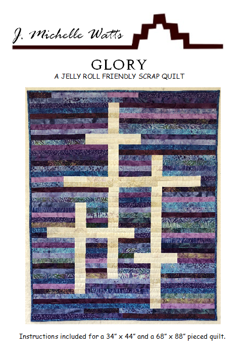 Glory-  A Jelly Roll Friendly Scrap Quilt