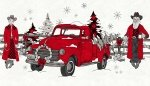 B9143P 01 Western Greetings Santa Truck