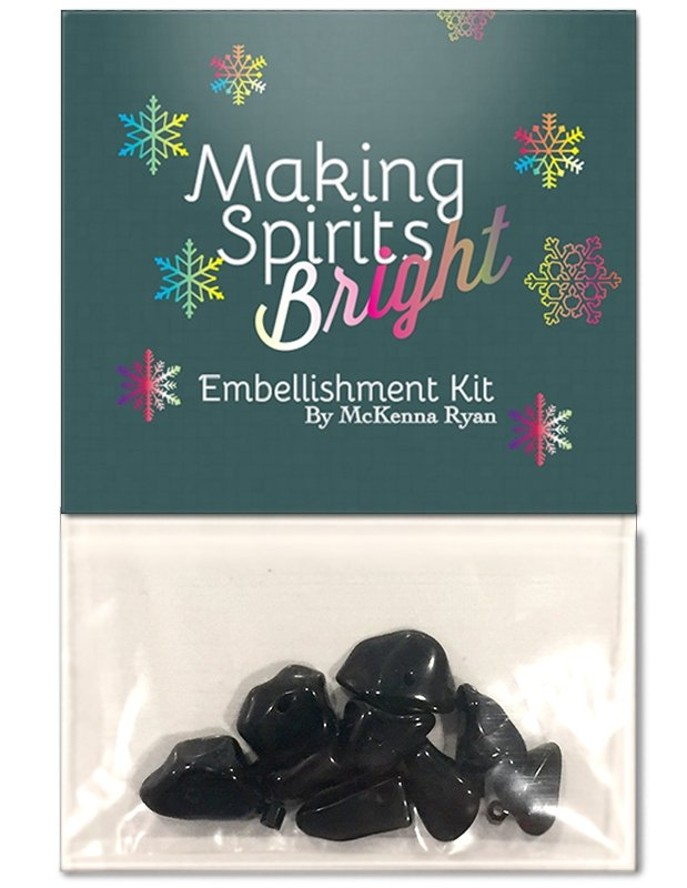Making Spirits Bright Embellishment Kit