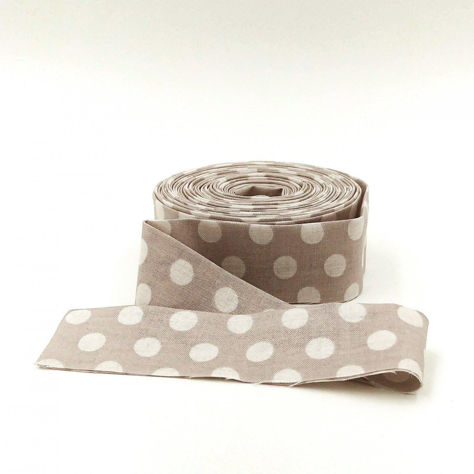 Binding Spots Gray by Kaffe Fassett