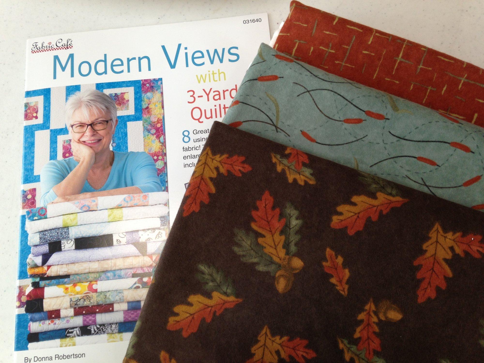 Three Yard Quilt Kit Leaves