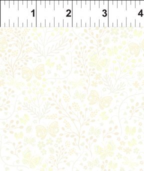 Garden Delights II Butterflies Cream 3GSF 5