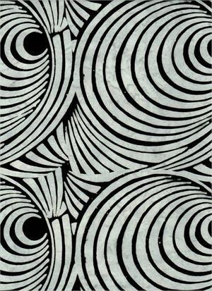 Batik Textiles Serendipity Gray & Black Echoes