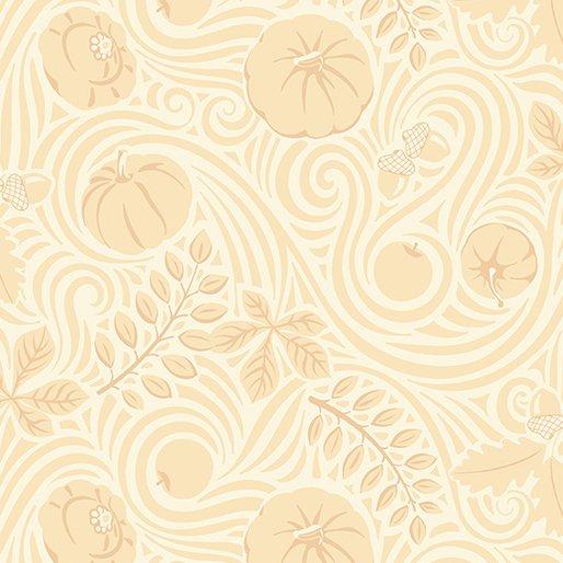 Thankful Autumnwind Cream by Amanda Murphy for Benartex