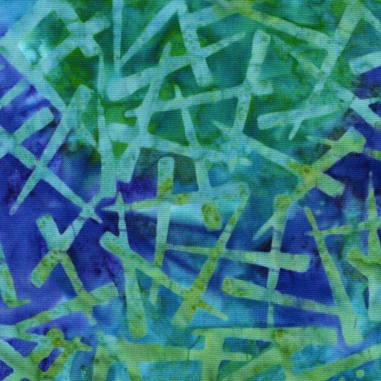 Amazon Batiks 9231-75 Turquoise