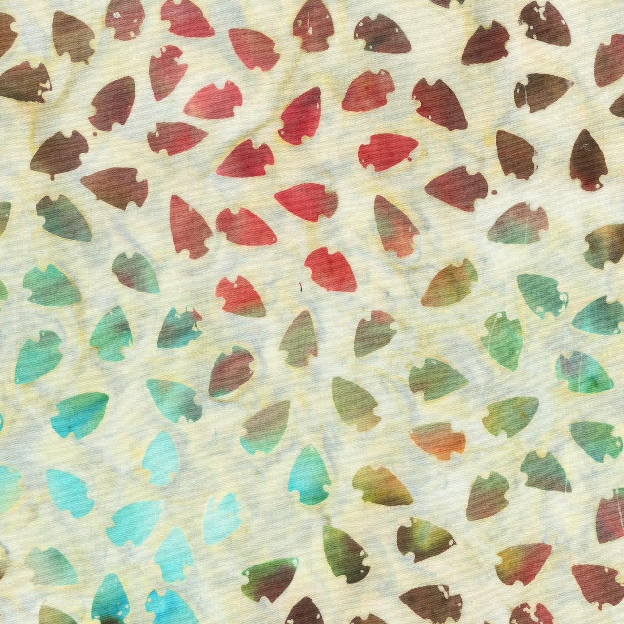 Anthology Southwest 944Q-1 Multi color arrowhead batik