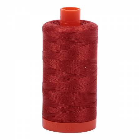 Aurifil Mako Cotton Thread 50wt #2395 Pumpkin Spice
