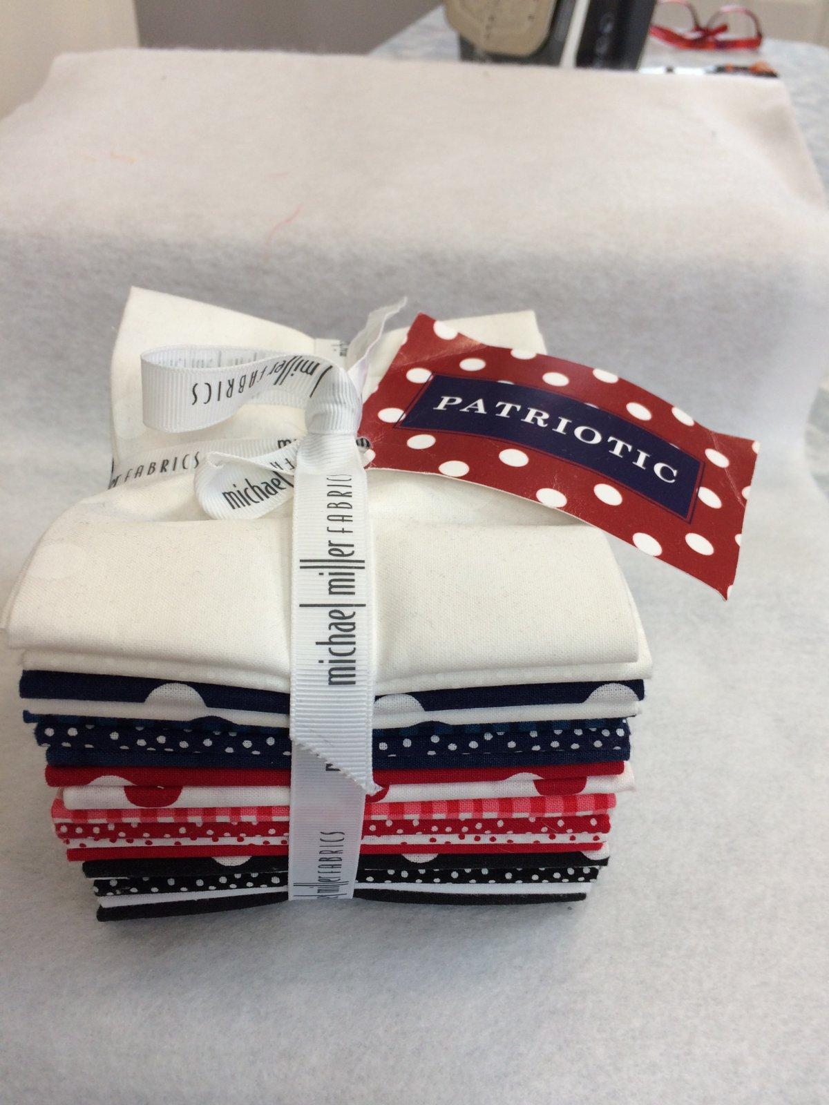 Patriotic Fat Quarter Bundle FQ0164 from Michael Miller