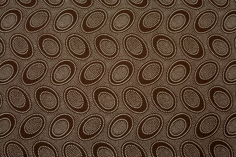 Kaffe Fassett Aboriginal Dots Chocolate for Free Spirit