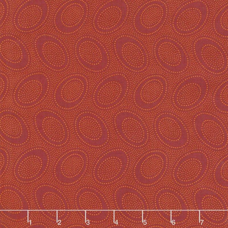 Kaffe Fassett Aboriginal Dots Pumpkin for Free Spirit