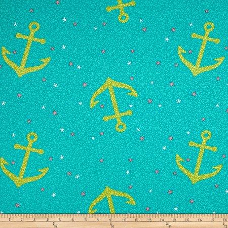 Michael Miller/Starfish Anchors/PS7109-AQUA-D