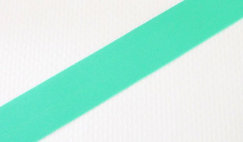 Farmhouse Fabrics/Aqua Decorative Elastic 1 1/2