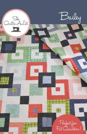 Bailey Quilt Pattern for Fat Quarters