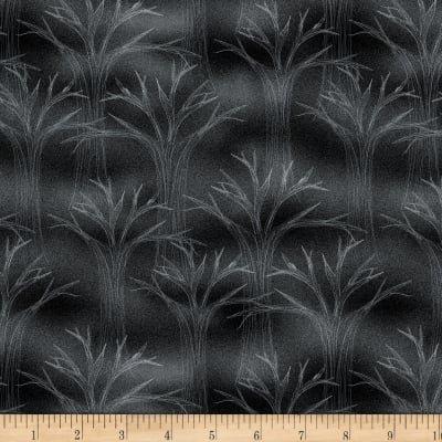 Spooky Vibes Black Trees