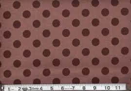 Riley Blake/Medium Dots/C430-90 Brown