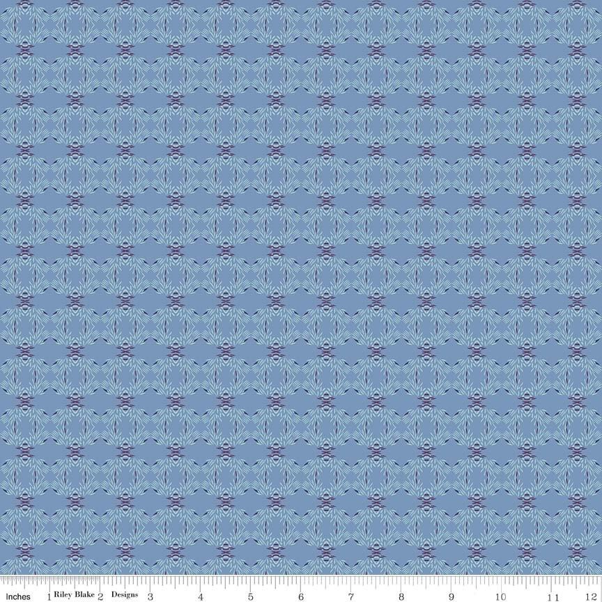 Riley Blake/Organica/C5345 Urchin Blue