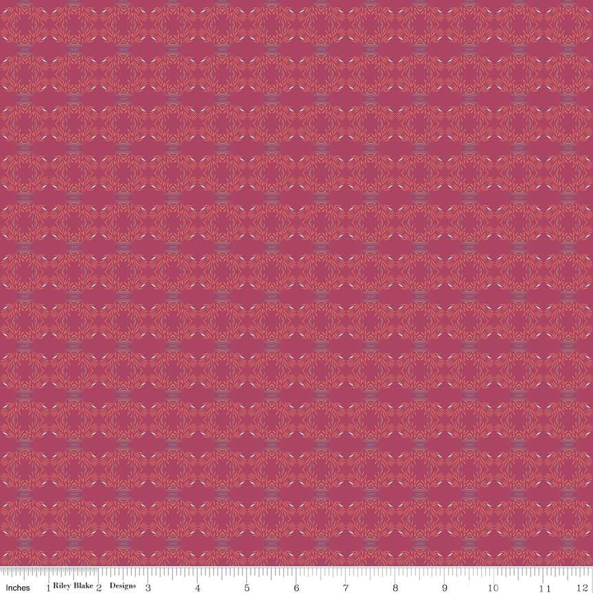 Riley Blake/Organica/C5345 Urchin Red